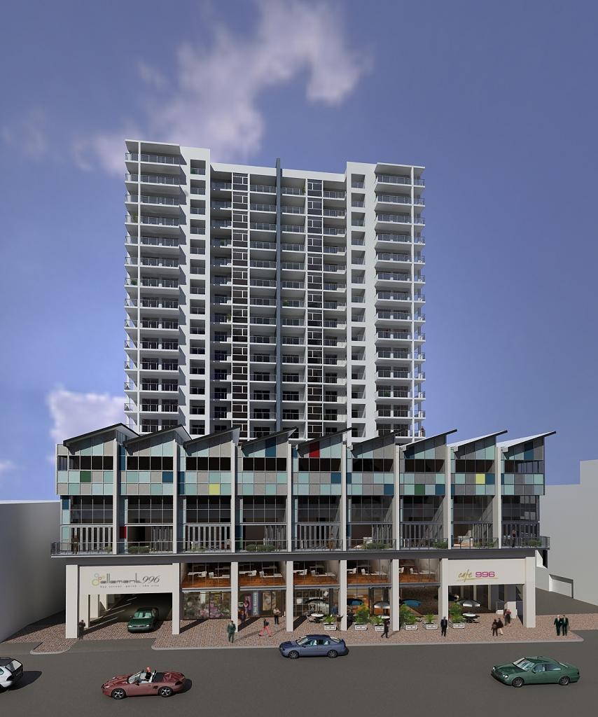 996 Hay Street, Perth - Richard Szklarz Architects